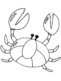 Small Picture Crab Claw Coloring Page Coloring Coloring Pages