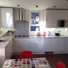 glass range hoods. Picture Courtesy Of Sarah With A Silver Glass Splashback Range Hoods