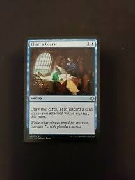 Magic The Gathering 4x Chart A Course Nm Mint English