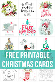 Looking for free printable christmas cards? 122 Free Printable Christmas Cards For 2020