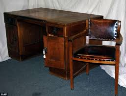 old office desk. The Desk Belonging To Adolf Hitler Was Discovered In A Government Storeroom Germany Old Office