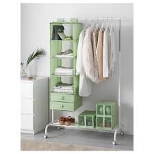 easy storage for small spaces ikea skubb organizer