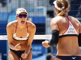 Beach volleyball: April Ross and Alix ...