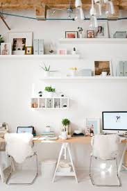 double office desk. love this double desk situation office