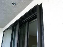 corner sliding glass doors soundproof door top window treatments for