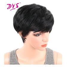 Natural Hair Style Wigs online get cheap short hair natural aliexpress alibaba group 3333 by stevesalt.us