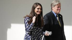 Hope Hicks named WH communications director - YouTube