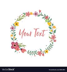 Floral Logo Design Free Download Wedding Invitation Floral Logo Template