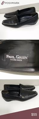 Paul Green Shoe Size Chart Paul Green Leather Loafers Walk Driving Shoes Paul Green