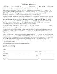 Sales Contract Template Word Installment Sales Contract Template