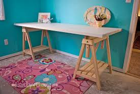 fresh sawhorse desk for home interior design wooden wooden sawhorse legs for sawhorse desk with