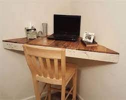 floating corner desk