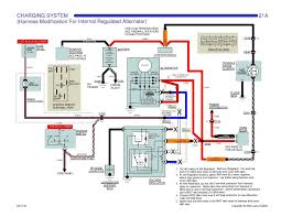 corvette wiring diagram wiring diagram schematics single wire alternator team camaro tech
