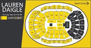 Sprint Center Seating Chart Rows Seating Charts Sprint Center