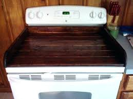 glass stovetop cover top range oven