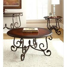 silver company 3 piece coffee table set in cherry steve end tables dining