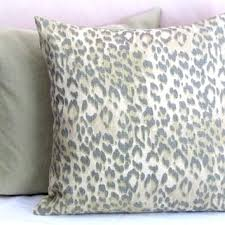 Animal Print Pillow Covers 20×20