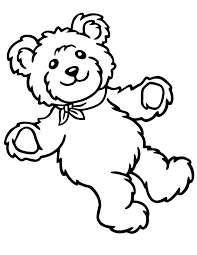 Small Picture Stuffed Teddy Bear For Toddlers Coloring Page H M Coloring Pages