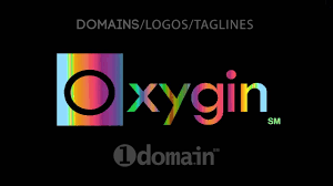 oxygin dot in 4 letter premium domain name logo from 1domain