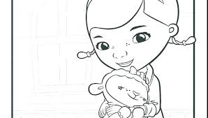 Mcstuffins Coloring Pages Collection Of Doc Junior Download Them And
