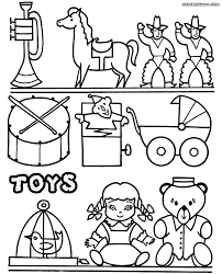 Toys coloring pages | Coloring pages to download and print