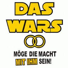 Eine Anlehnung An Die Berühmten Star Wars Filme Dass Die Macht Auch