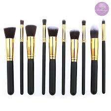amazon bellangé makeup brush set 10 pieces kabuki brushes best makeup brushes including foundation brush flat top brush face brushes eye brushes and