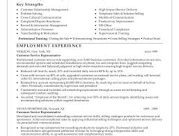Customer Service Representative Resume Examples Resume Template