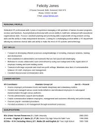 ... sample resume objective Human Resources Coordinator Resume Example  Hashtag Cv resume template 2017 ...