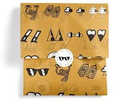 custom labeling stickers custom tissue designed sealed delivered noissue