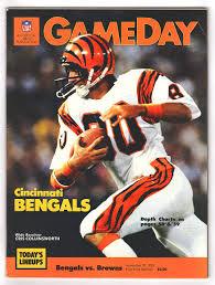 Nfl Gameday Cincinnati Bengals Vs Cleveland Browns