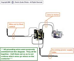 float switch wiring diagram how do i wire a 110 float switch to a 220 pump its a 220 graphic