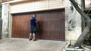 garage door with entry doorDoor garage  Garage Door Spring Repair Steel Garage Doors Twin