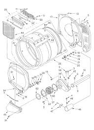 Mercial whirlpool electric dryer parts list