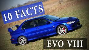 10 Facts // Mitsubishi Lancer Evolution VIII 8 - YouTube