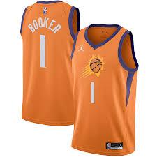 New jersey nets vs phoenix suns ticket stub december 7, 1990. Men S Phoenix Suns Devin Booker Jordan Brand Orange 2020 21 Swingman Jersey Statement Edition