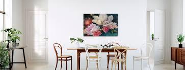 Rozen Betaalbare Canvasprints Photowall