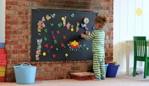 magnetic paint ideas for your kids room