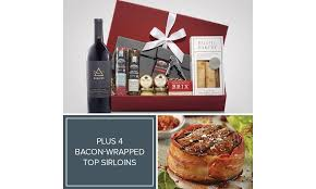 fine wine old fashioned charcuterie premium gifts and the best steaks in the world sound like a gift worth giving this memorable collection includes it