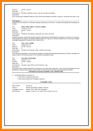 6 Vhow To Write Cv For Fresher Emt Resume