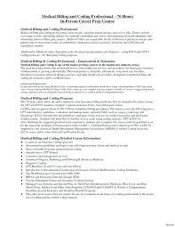 Billing And Coding Specialist Sample Resume Podarki Co