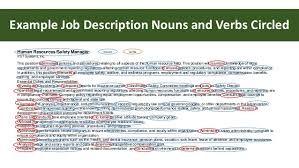 ... Resume; 9. Example Job Description Nouns ...
