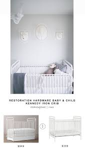 baby furniture for less. restoration hardware baby u0026 child kennedy iron crib for 949 vs wayfair franklin ben abigail furniture less b