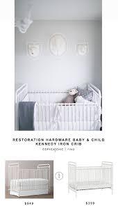 restoration hardware baby child kennedy iron crib for 949 vs wayfair franklin ben abigail