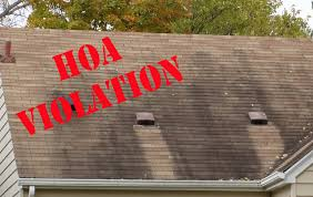 Blog Help I Got A Letter About An Hoa Violation Cooley Roofing