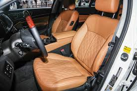 Quilted Car Seats 2015 Kia K900 Slashes Base Price Gets New ... & Quilted Car Seats 2015 kia k900 slashes base price gets new quilted leather  options cow print car seat Adamdwight.com