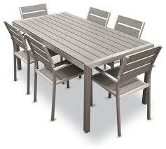 habana 7 piece outdoor dining set contemporary outdoor outdoor furniture stunning outdoor
