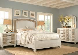Coastal Bay White 5 Pc Queen Panel Bedroom - Queen Bedroom Sets White
