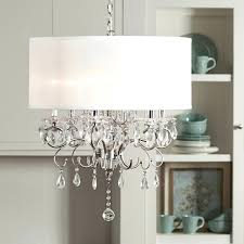 oly meri drum chandelier double shade and crystal also studio knock off