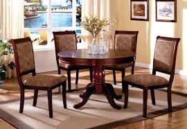 Pedestal Dining Table Set Cherry Dining Table Set About Rivington Transitional Style Dark